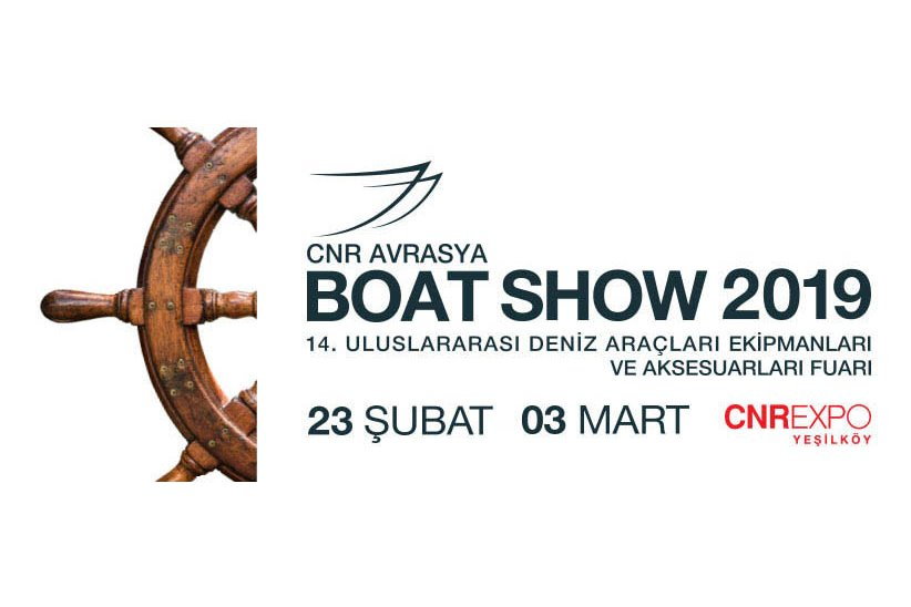 TRIO DENİZ WILL BE AT CNR EURASIA BOAT SHOW 2019